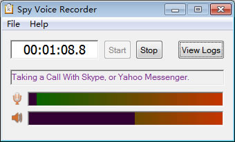 Spy Voice Recorder, voice recorder software, spy voice chat