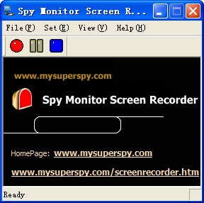 Spy Monitor Screen Recorder Screen shot